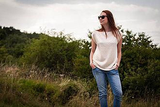 Topy - Biely letný top - 4239110_