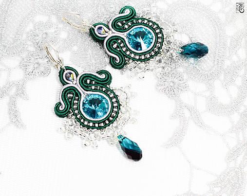05a15bc52 Smaragdové / bazu - SAShE.sk - Handmade Náušnice