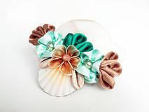 Náhrdelníky - Z piesku a morskej peny - náhrdelník - 4236255_
