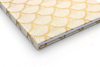 Papiernictvo - Zápisník A5 Gold Fish - 4237423_