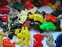 gombíčky safari zvieratká (balíček 20ks)