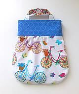 Detské tašky - taštička bicykel - 4240426_
