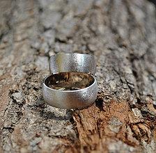 Prstene - Ľadový bozk ... zlaté II. - 4240694_