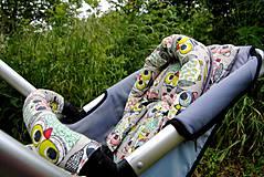 Textil - Zmenšovacia podložka do kočíka /autosedačky/cyklovozíka/lehátka a pod - 4244206_