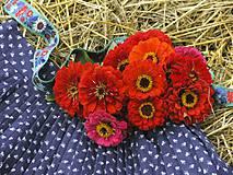 Sukne - Modrotlačová sukňa II. - 4246249_