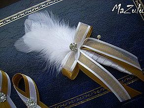 Pierka - svadobné pierka /+ iné kombinácie/ - 4243318_