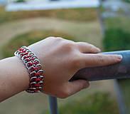 Náramky - Pružný rudoch - náramok - 4248530_