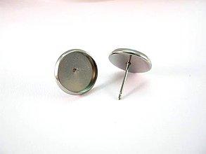 Komponenty - Puzeta s lôžkom 12 mm /M1318/ - nerezová oceľ 304 - 4249219_