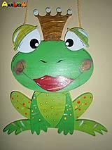 Žabka na zavesenie