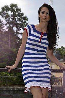 Šaty - Plážové šaty Pásikavé - 4247429_
