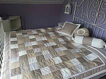 Úžitkový textil - Romantický prehoz - svadobný dar - 4248422_