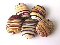 - Vinutka Wooden toffee ovals - 4252147_