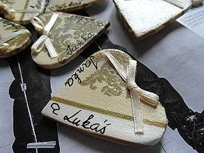 Darčeky pre svadobčanov - magnetky pre svadobčanov - 4252027_
