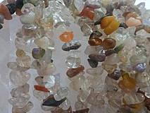 Minerály - Krištálové vlasy červené a zelené - zlomky - 4251146_