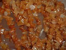 Minerály - Avanturín červený - zlomky - 4251468_
