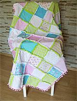 - Pastelový Rag Quilt - 4251016_