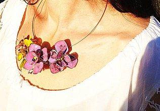Sady šperkov - lel pearly flowers set - 4252829_