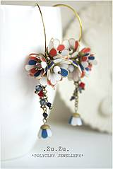 Náušnice - Tanečnice elegant. Sailor - 4254287_