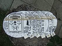 Pomôcky - Vintage podšálky z kolekcie