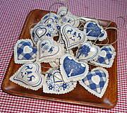 Drobnosti - Srdiečkovo - Modré. - 4252424_