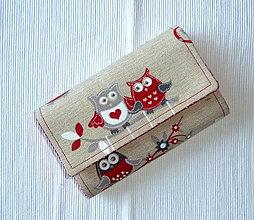 Peňaženky - Peňaženka - Sovičky 2. - 4252482_