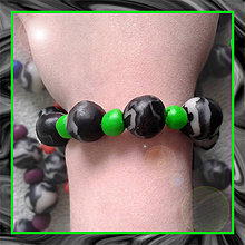 Náramky - Mramorový náramok NA ZÁKAZKU - 4253106_