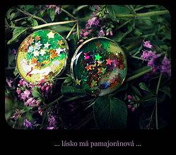 Náušnice - Pamajoránové hviezdy - 4258736_