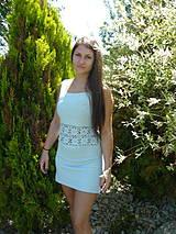 Šaty - Háčkované šaty