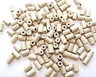 Prírodné drevené korálky 8x4mm