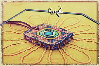 Náhrdelníky - Amulet - Vesmírne mesto - 4257426_
