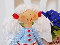 Bábiky - Víla Viluška v modrom / bábika/ - 4255324_