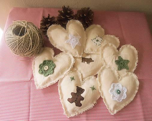 Vianočná dekorácia na stromček či girlandu