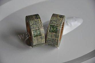 Papier - washi paska vintage news 2 - 4261854_
