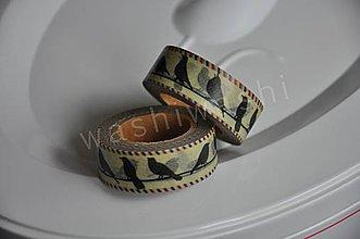 Papier - washi paska vintage birdies - 4261876_