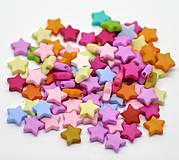 Korálky hviezdičky (balíček 30ks)
