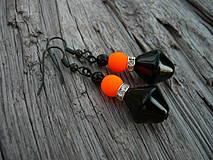 Náušnice - Náušnice Orange neon - 4266112_