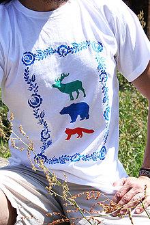 Oblečenie - lesné zveri - 4262931_