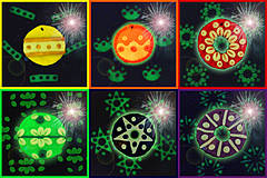 Dekorácie - Svietiaca vianočné ozdoby NA ZÁKAZKU - 4265330_