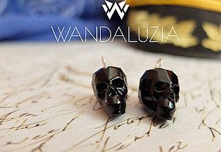Náušnice - Luxury skulls - 4269057_