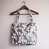 Veľké tašky - Šedobiela - 4268074_