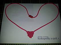 Náhrdelníky - Keltské srdce - náhrdelník/prívesok - 4269972_
