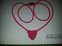 Náhrdelníky - Keltské srdce - náhrdelník/prívesok - 4269973_