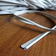 Iný materiál - Kédr, PVC paspuľka - svetlunko šedá - 4269519_