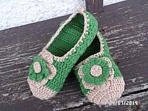 Ponožky - baleríny 4 :) - 4267272_