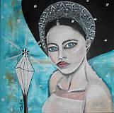Obrazy - Ľadová kráľovná - 4266880_