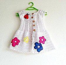 Detské oblečenie - Šaty s lúkou...:-:-) - 4271474_