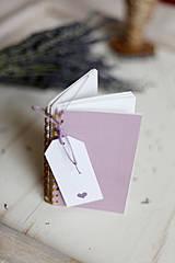 Papiernictvo - V levanduľových farbách #6 - 4270801_