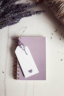 Papiernictvo - V levanduľových farbách #6 - 4270802_