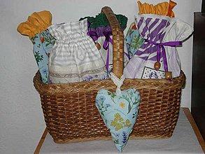 Úžitkový textil - Vrecká pre babku bylinárku - 4272224_