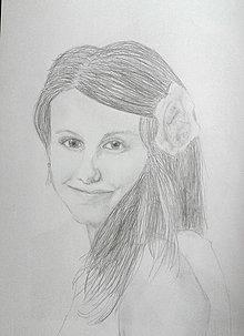 Kresby - Portrét tváre ceruzkou NA ZÁKAZKU - 4273571_